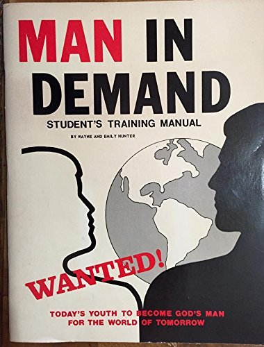9780915134717: Man In Demand: Student's Training Manual