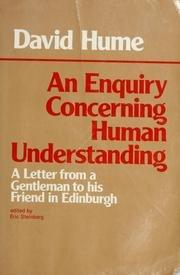9780915144174: Enquiry Concerning Human Understanding