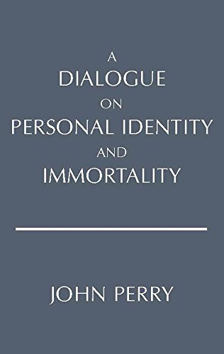 9780915144532: A Dialogue on Personal Identity and Immortality (Hackett Philosophical Dialogues)