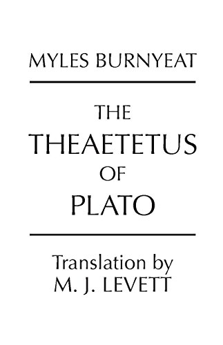 The Theaetetus of Plato (Hackett Classics) (9780915144815) by Plato