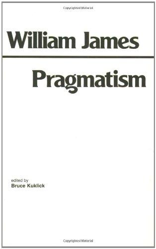 9780915145058: Pragmatism (Hackett Classics)