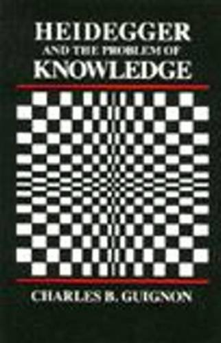 9780915145218: Heidegger and the Problem of Knowledge