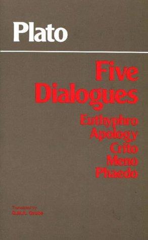 9780915145225: Plato - Five Dialogues: Euthyphro, Apology, Crito, Meno, Phaedo