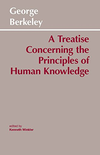 9780915145393: A Treatise Concerning the Principles of Human Knowledge (Hackett Classics)