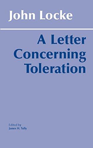 9780915145607: A Letter Concerning Toleration (Hackett Classics)