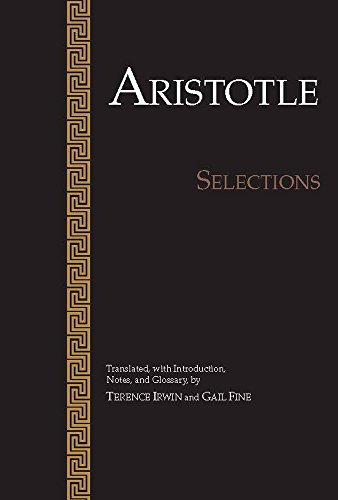 9780915145676: Aristotle: Selections