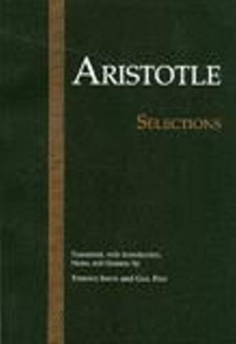9780915145683: Aristotle: Selections