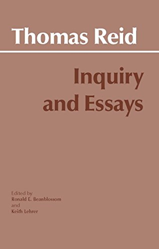 9780915145850: Inquiry and Essays (Hackett Classics)