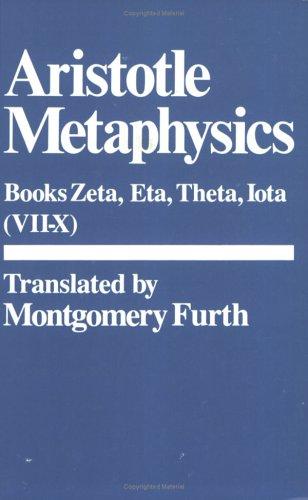 9780915145904: Metaphysics: Zeta, Eta, Theta, Iota Bks. 6-10
