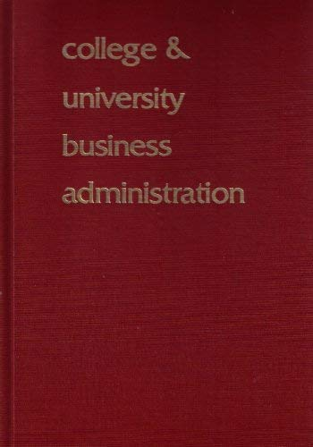 College & university business administration: Welzenbach, Lanora F.