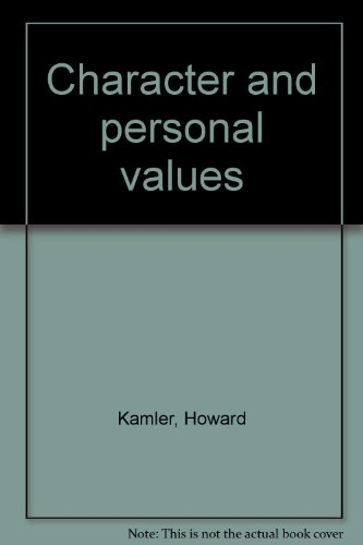 Character and personal values: Kamler, Howard