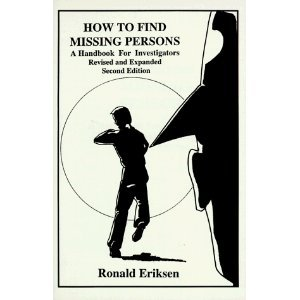 9780915179046: How to find missing persons: A handbook for investigators