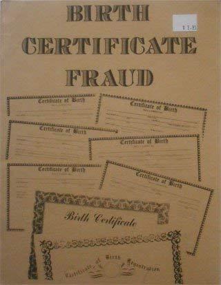 Birth Certificate Fraud: Loompanics Unlimited