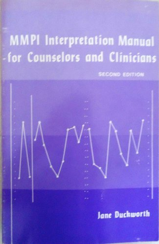 9780915202041: MMPI interpretation manual for counselors and clinicians