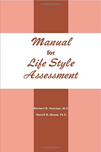 9780915202720: Manual For Life Style Assessment