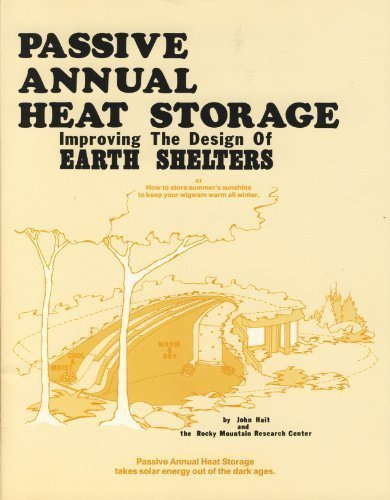 Passive Annual Heat Storage: Improving the Design of Earth Shelters, Or, How to Store Summer's Su...