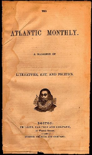 9780915232529: Vintage Atlantic Monthly -- 100 issues 1857-1867, plus books by its first five editors