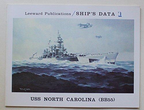 9780915268078: USS North Carolina (BB55) (Ship's data)
