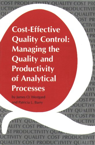 9780915274352: Cost-Effective Quality Control: Managing the Quality and Productivity of Analytical Processes