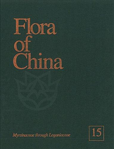 9780915279371: Flora of China, Volume 15, Myrsinaceae through Loganiaceae