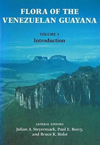 9780915279739: Flora of the Venezuelan Guayana, Volume 1: Introduction