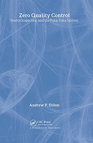 9780915299072: Mistake-Proofing for Operators Learning Package: Zero Quality Control: Source Inspection and the Poka-Yoke System