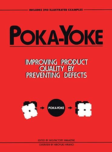 Poka-Yoke (Hardcover): Nikkan Kogyo Shimbun