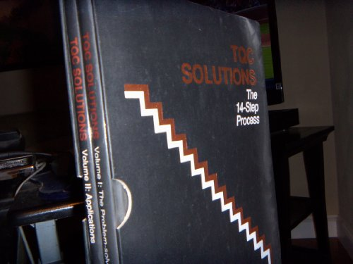 9780915299799: Tqc Solutions: The 14-Step Process : The Problem-Solving Process : Applications