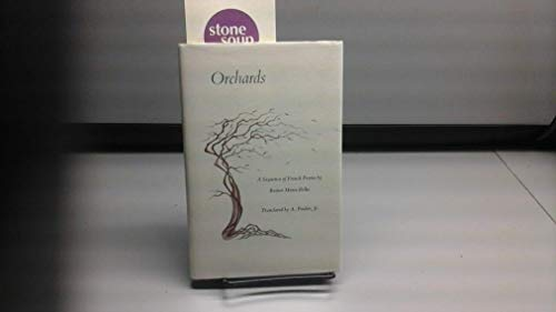 9780915308330: Orchards: A Sequence of French Poems (English and French Edition)