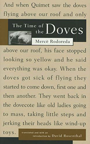 9780915308750: The Time of the Doves (La plaça del Diamant)