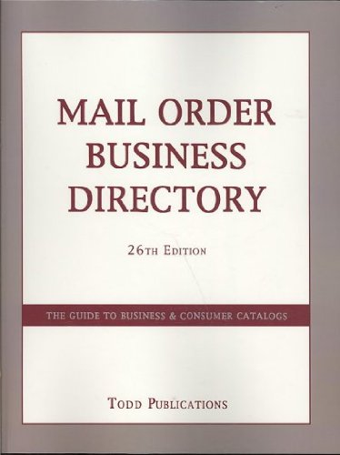 9780915344277: Mail Order Business Directory