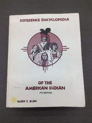 9780915344468: Reference Encyclopedia of the American Indian