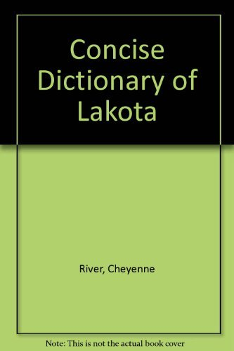 9780915344840: Concise Dictionary of Lakota