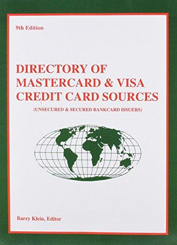 9780915344857: Directory of Mastercard & Visa Credit Card Sources (Directory of Mastercard and Visa Credit Card Sources)