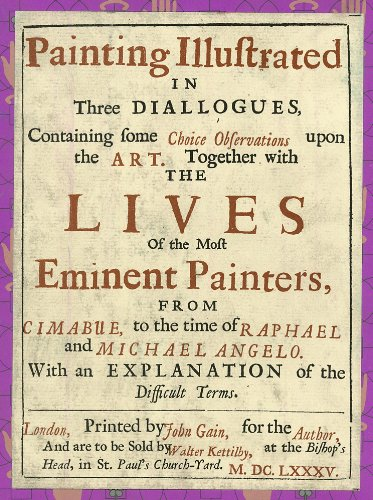 9780915346509: Painting Illustrated in Three Dialogues. Facsimile of the 1685 Edition