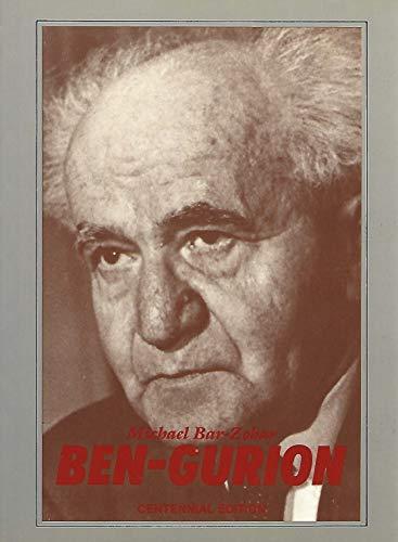Ben-Gurion: Michael Bar-Zohar - 1978