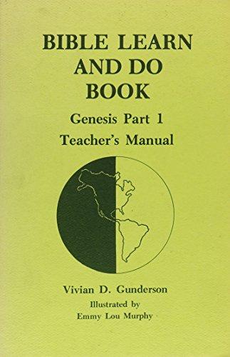 Bible Learn and Do Book, Genesis, Part: Vivian D. Gunderson