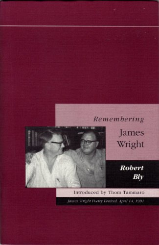 9780915408443: Remembering James Wright