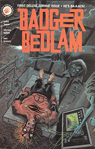 Badger bedlam (A First Publishing deluxe-format special): Baron, Mike