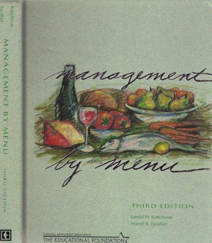 9780915452736: Management by Menu