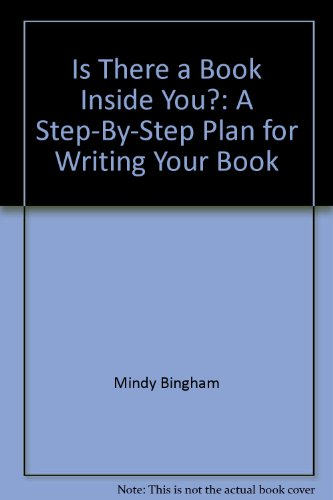 9780915516735: Is There a Book Inside You?: A Step-By-Step Plan for Writing Your Book