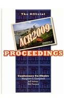 9780915552658: Advances in Consumer Research: The Official Acr2009 Proceedings: 37
