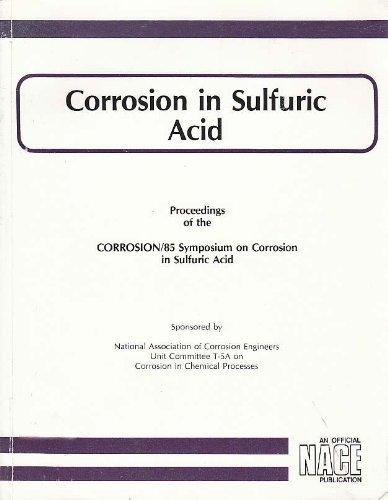 9780915567119: Corrosion in Sulfuric Acid