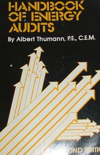 9780915586752: Handbook of Energy Audits