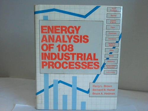 9780915586936: Energy Analysis of 108 Industrial Processes