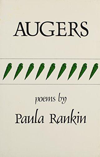 9780915604463: Augers (Carnegie-Mellon Poetry)
