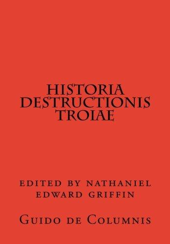 9780915651443: Historia destructionis Troiae