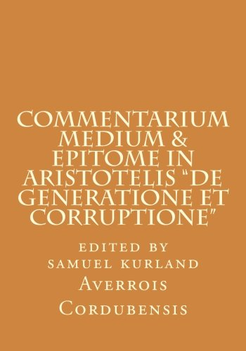 9780915651498: Commentarium Medium & Epitome in Aristotelis