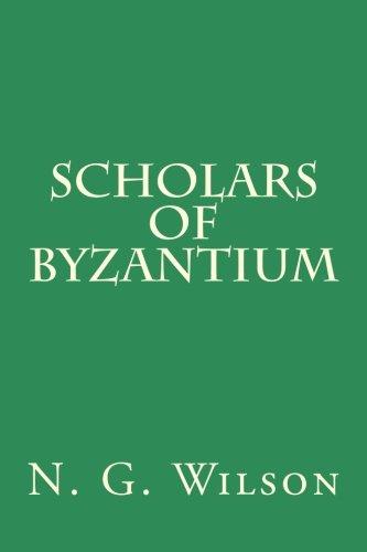 9780915651788: Scholars of Byzantium