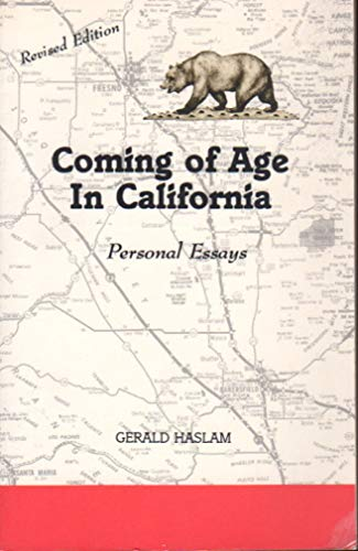 9780915685073: Coming of Age in California: Personal Essays